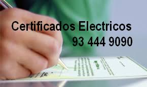 Certificate of Electrical Installation in Barcelona